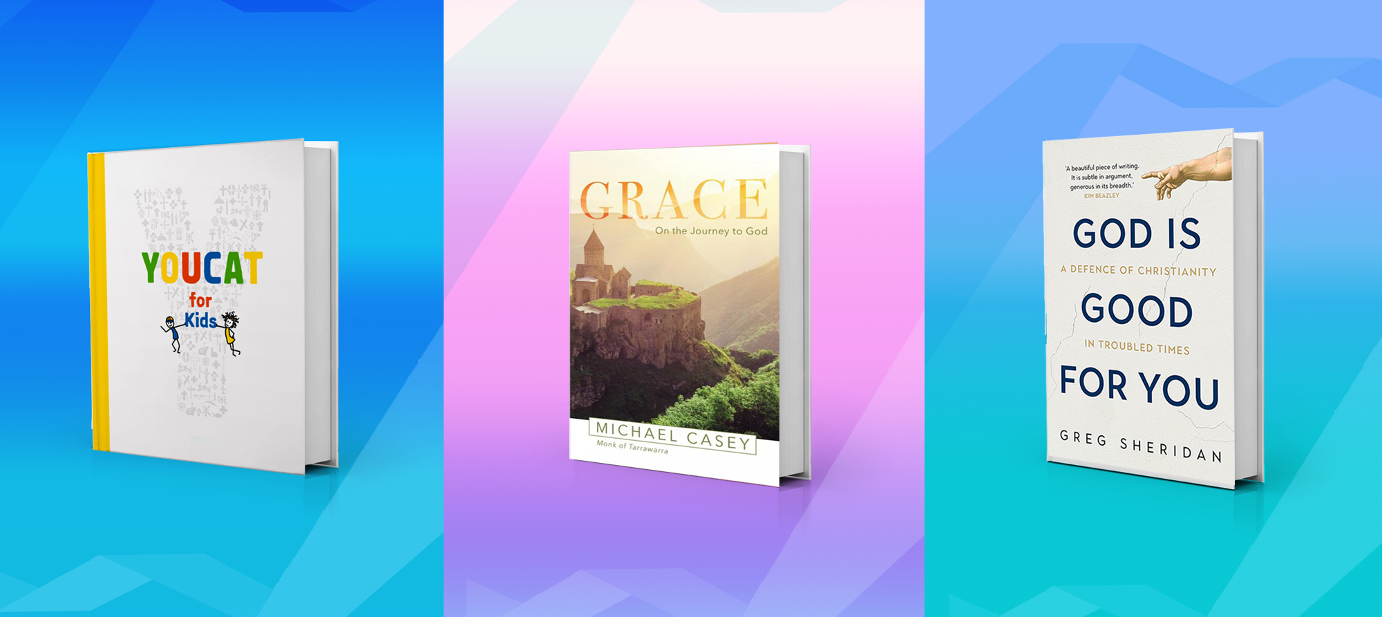 YOUCAT For Kids, Grace and God Is Good For You books